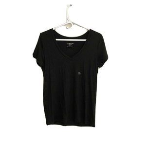 Express One Eleven Size S Black Skimming Tee